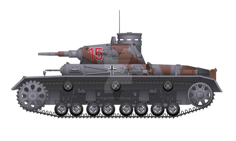 Panzerkampfwagen III Ausf. C by forbesrobertson