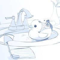 Tiny Tana by Herretik