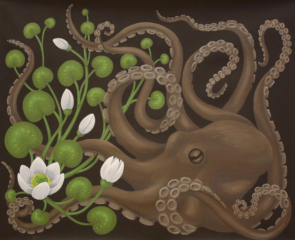 Octopus by sofiaeinarsson