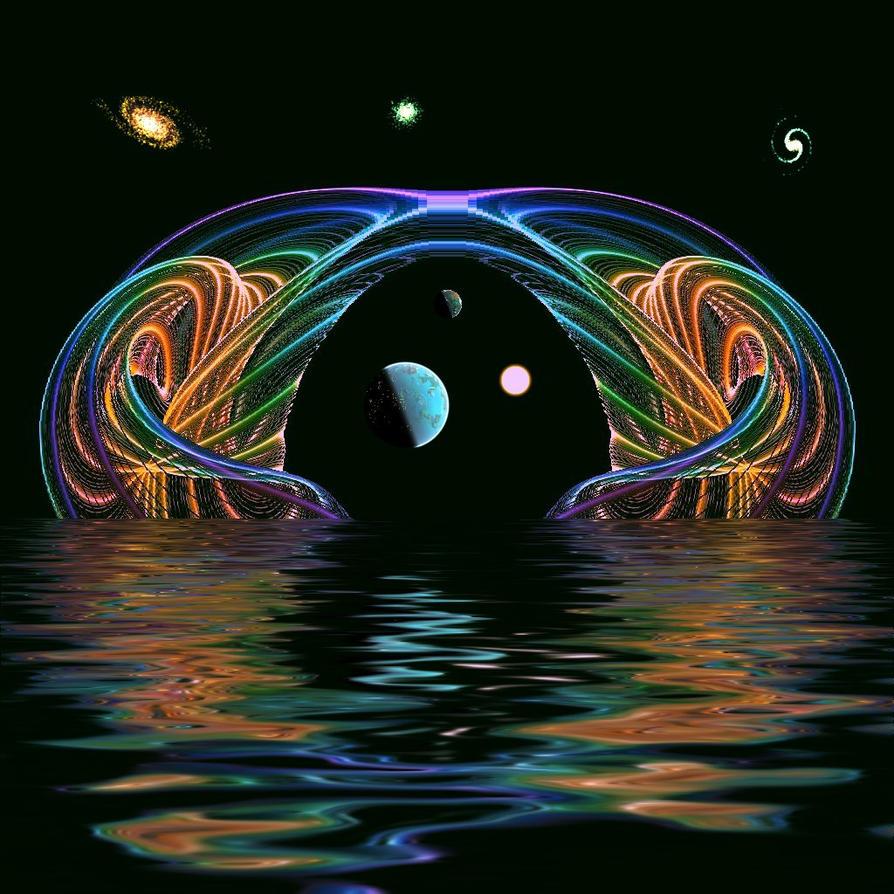 Psychedelic Portal by Freak-Angel56