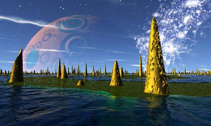 Alien sky 2 by AngeloVentura