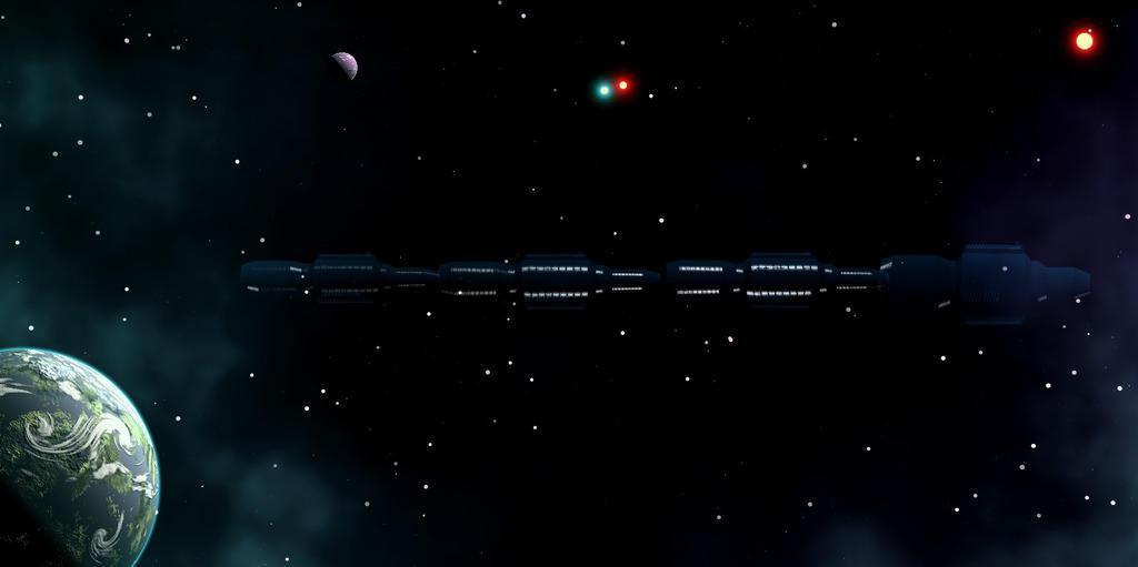 Cosmic train by Freak-Angel56