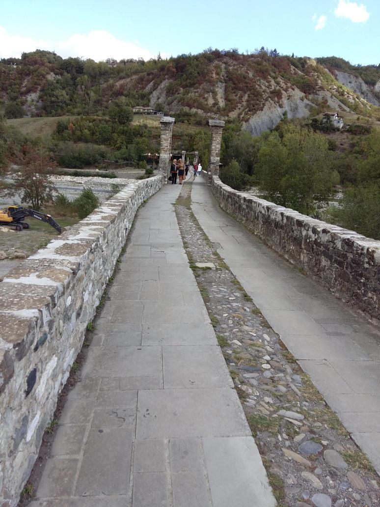 Bobbio, Italy, old roman bridge by Freak-Angel56