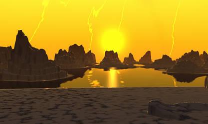 The last pond on Suvnee III by AngeloVentura