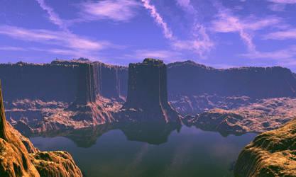 Mountain lake by AngeloVentura