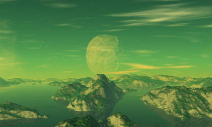 Green sky by AngeloVentura