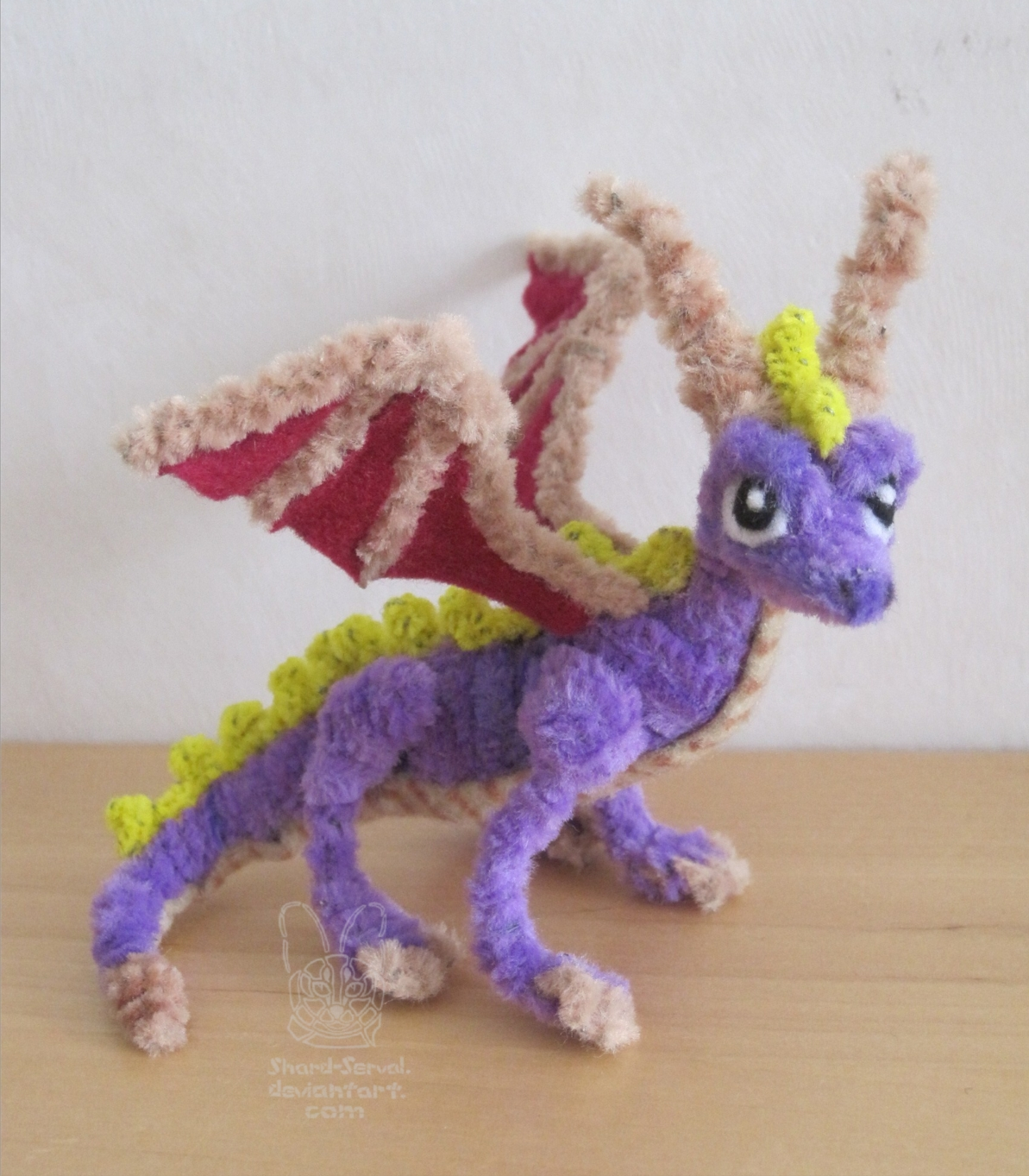 Pipe cleaners for crafts -  Pipe Cleaner Chenille Spyro By Sherval