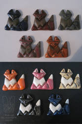 Pack of the Clay Foxes by Sherval