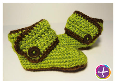 Baby Booties - New Born/6 Months