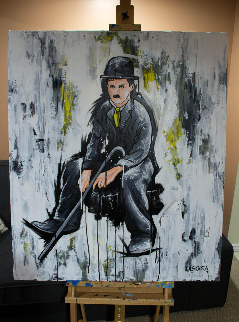 Charlie Chaplin by helios-c7