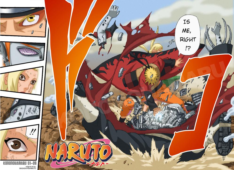 Naruto - Sage Mode by kononohamaru
