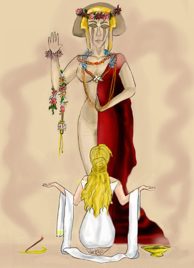 Priestess by soilik