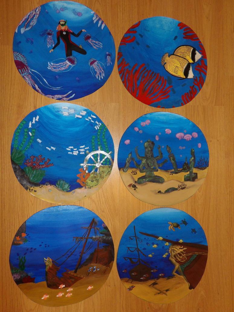 Underwater series by soilik