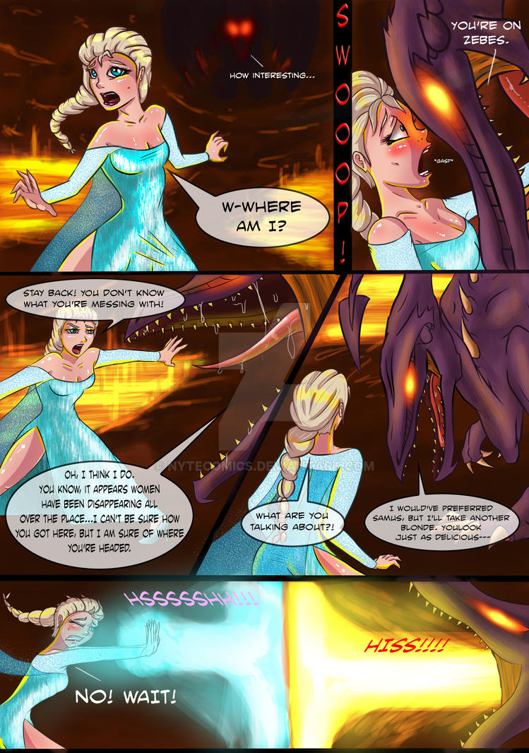 Evb Elsa Vs Ridley Page 1 By Forevernyte On Deviantart