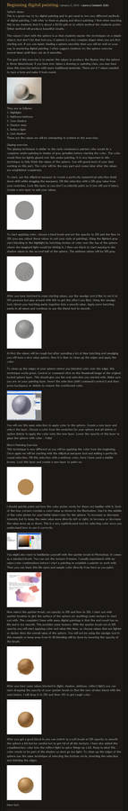 digital painting beg tutorial