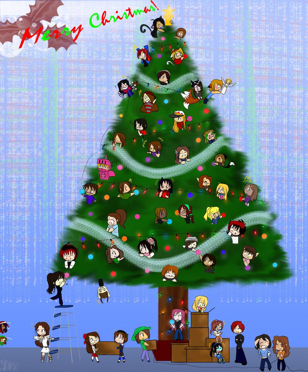 Merry Christmas by ShadowDemon101