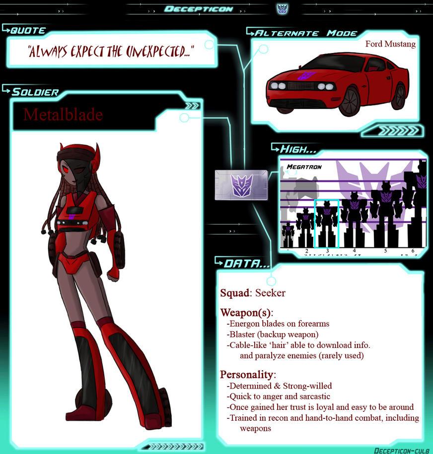 ID - Metalblade DataSheet by ShadowDemon101