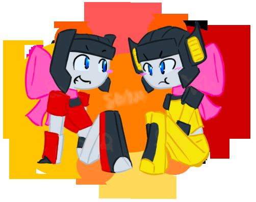2011 - TFG1 - Teeny Twins by ShadowDemon101