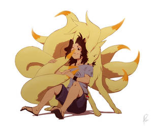 Alpha Ninetails by Dilutra