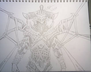 Evil demigod armor 2nd draft  by aratavack