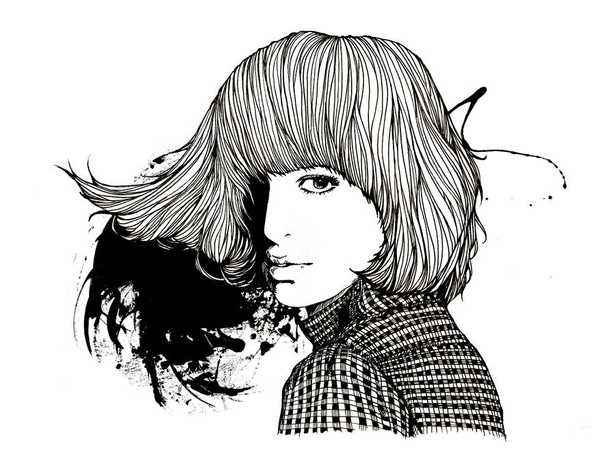 Ink Line Drawing Artists : Ink and pen by tim lee on deviantart