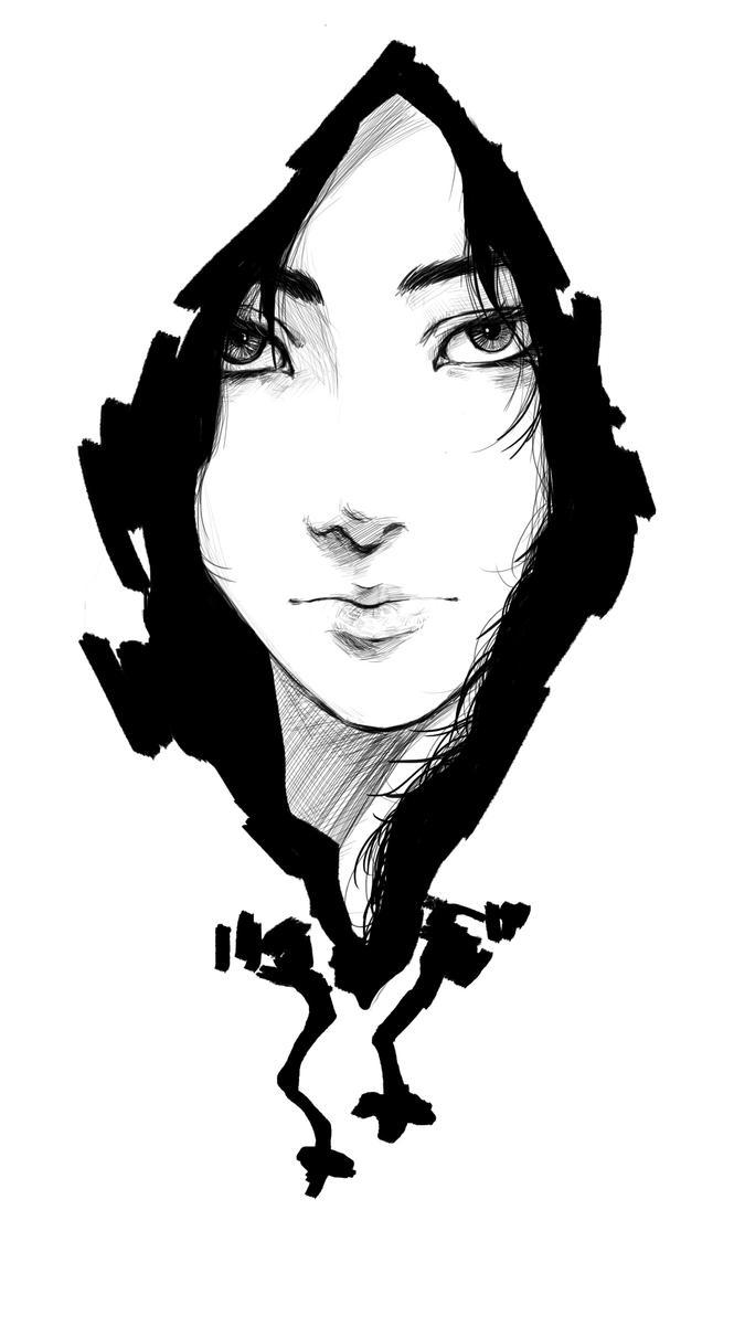 hoodie girl by Tim-lee