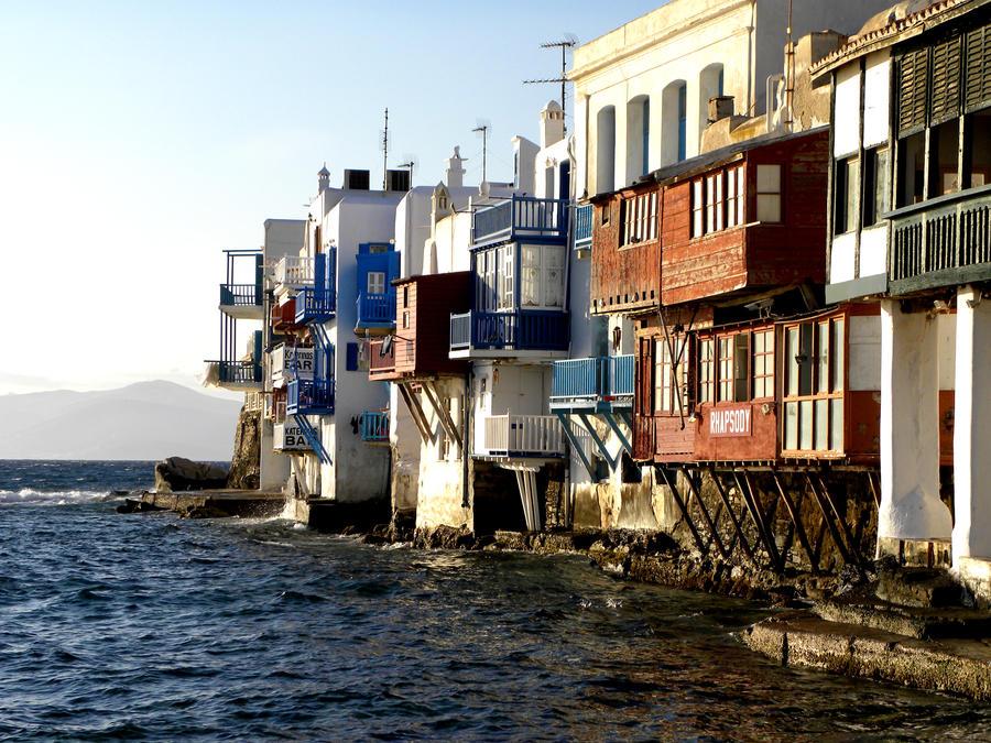 Coast of Mykonos 1 by RitsuYoji-san
