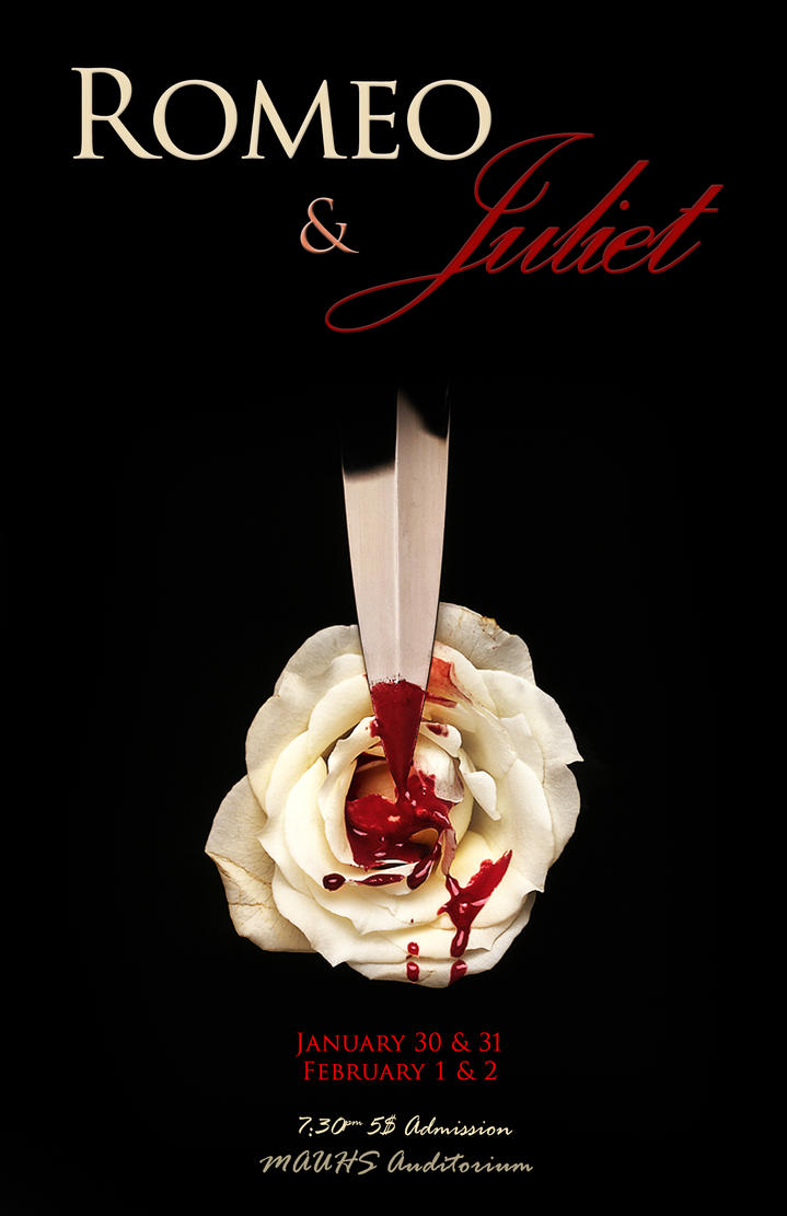 Romeo and Juliet - advertisement poster by RitsuYoji-san ...