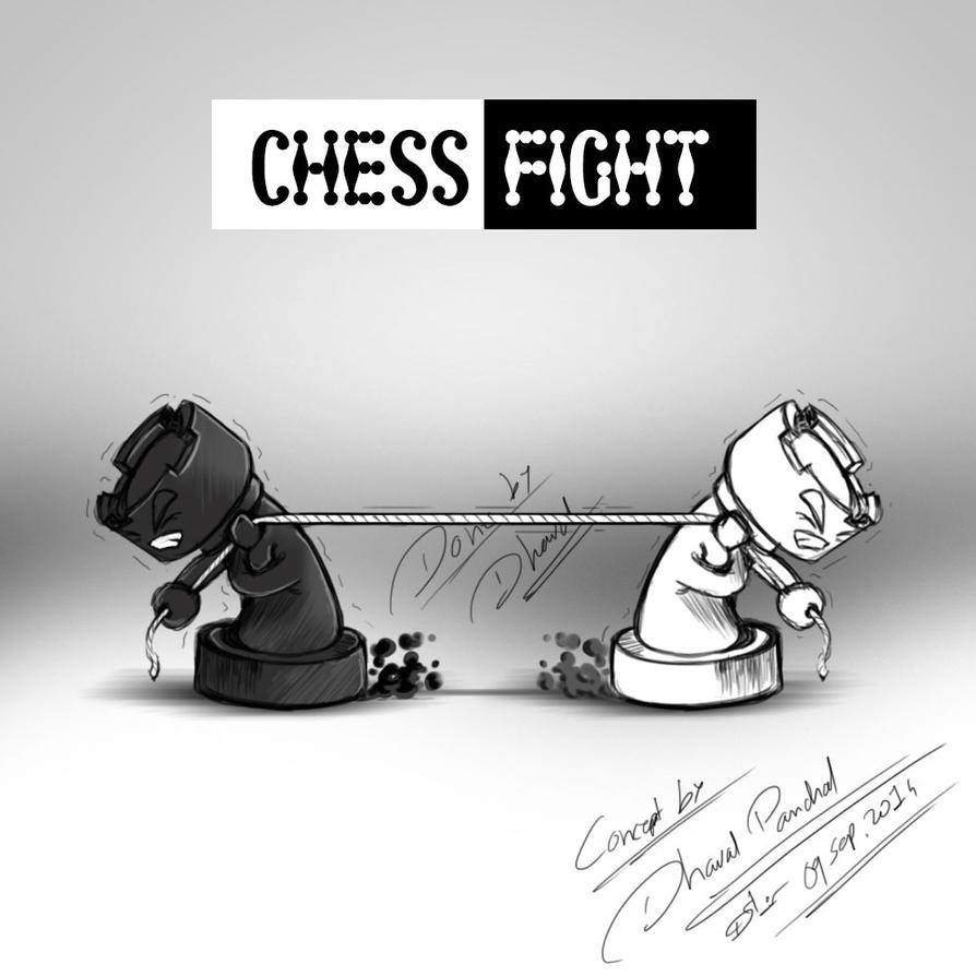 Chess Concept by cactuscreatives803