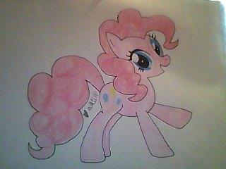 Pinkie Pie Fan Art by mika-love-4ever