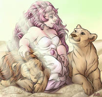 Lion squad by LittleHatCat