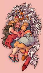 COMMISSION: Monster Girl Jasper X Greg (2/2)