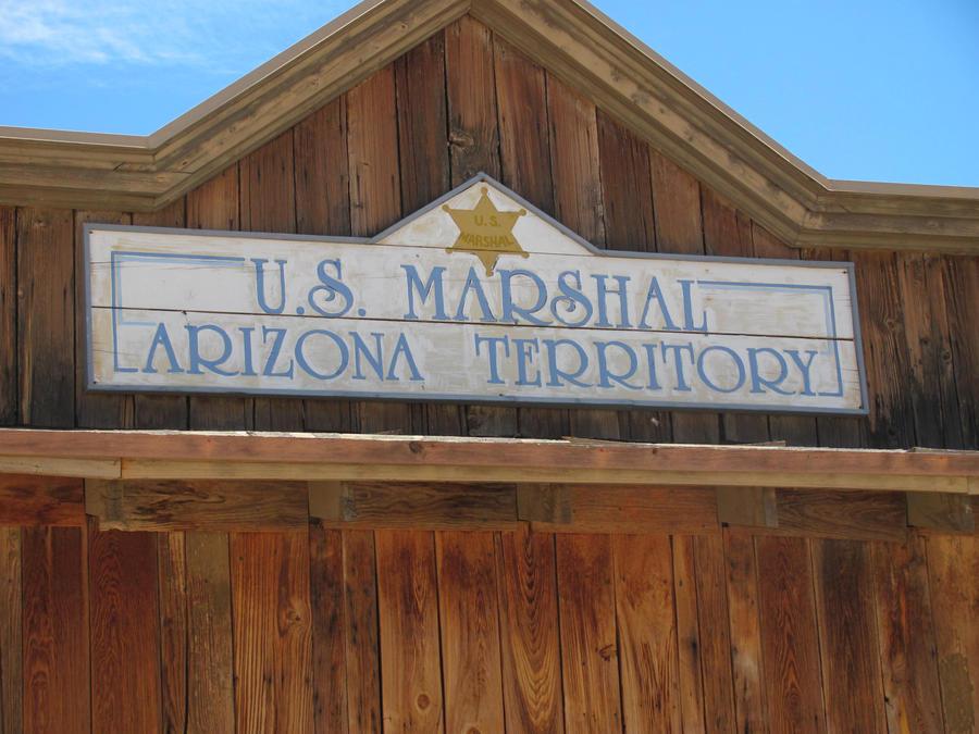 U.S. Marshal Sign