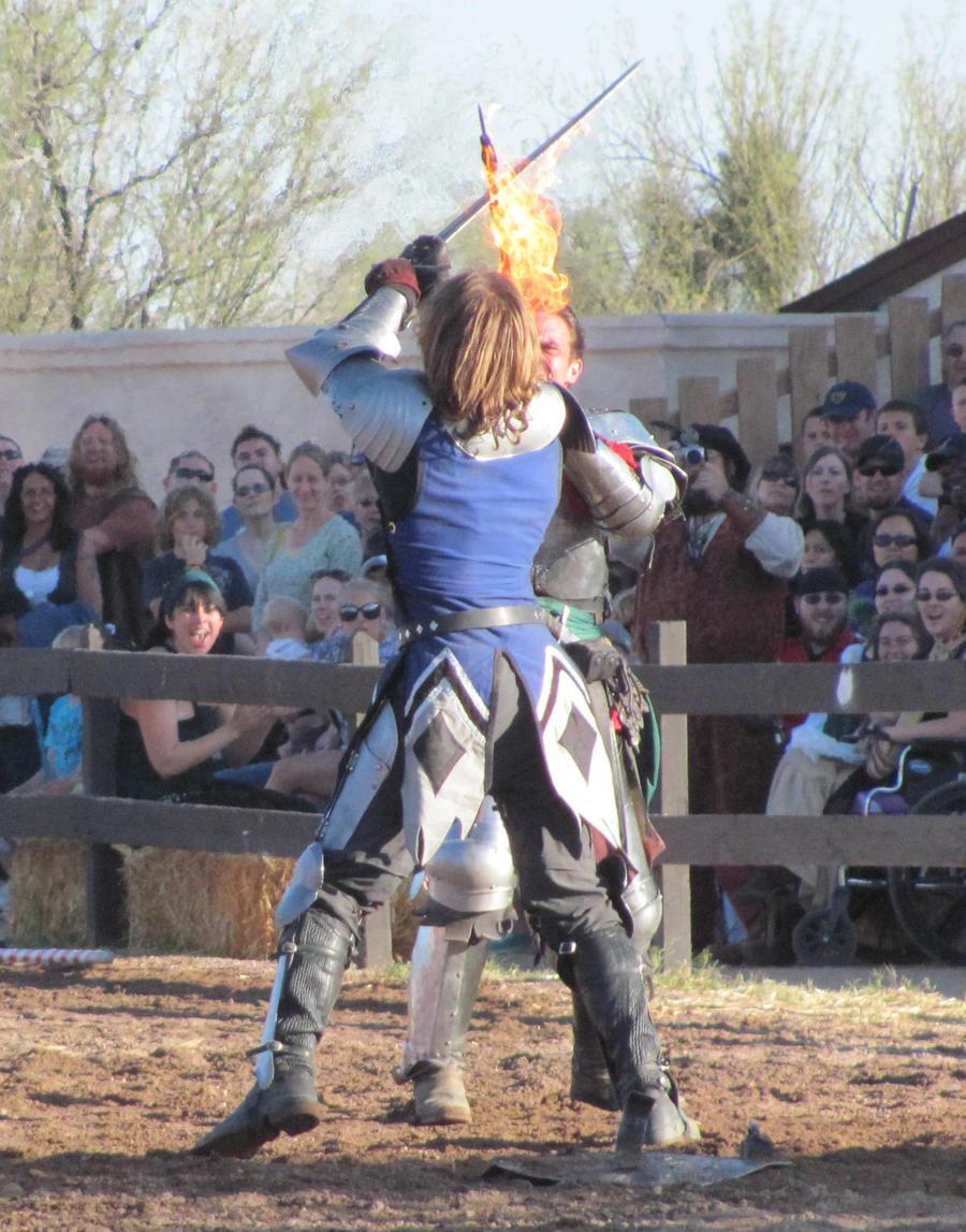 Fire Sword Fight