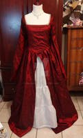 Tudor Dress Outer Gown