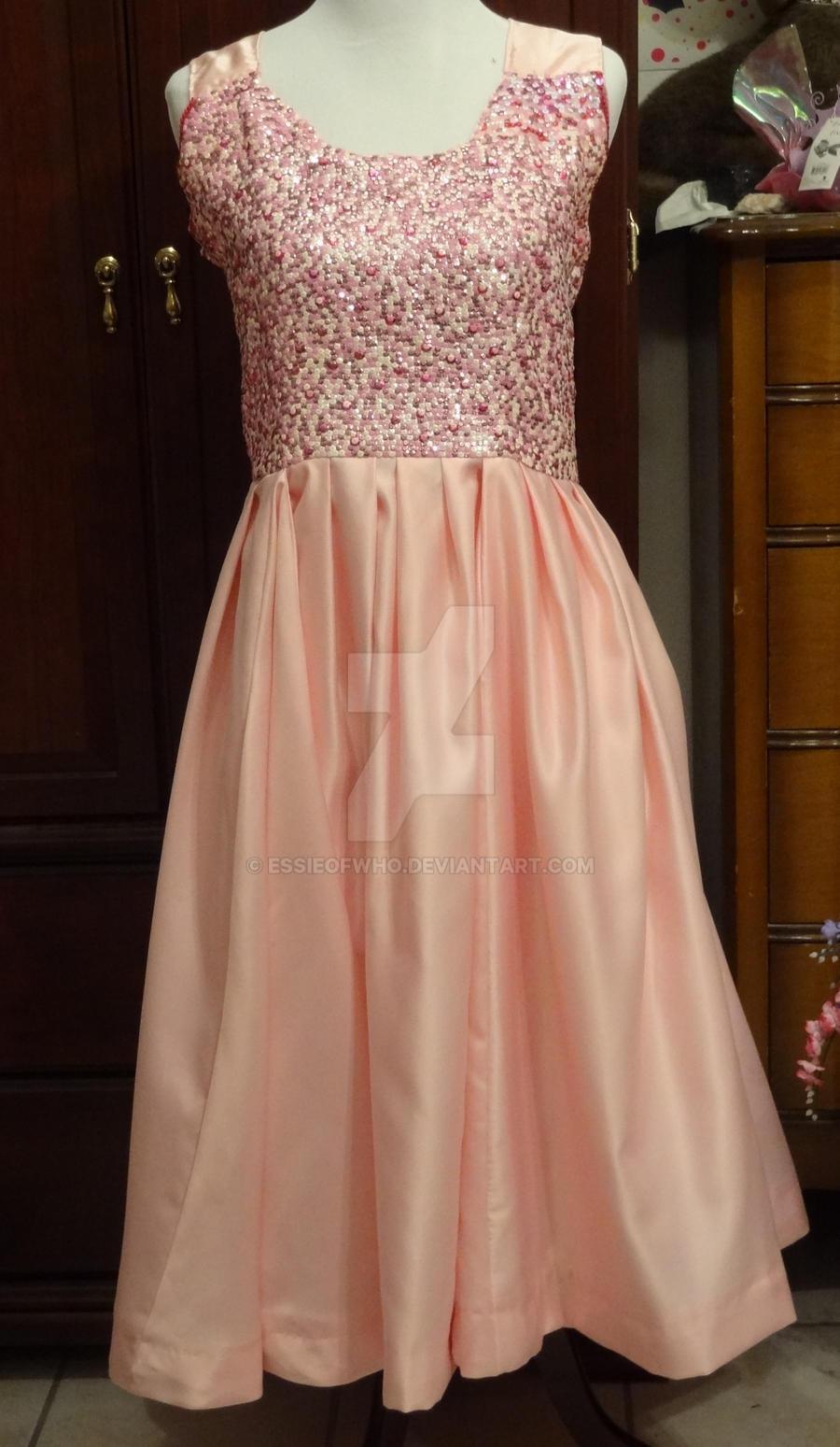 Rose's Idiot's Lantern Dress Full View