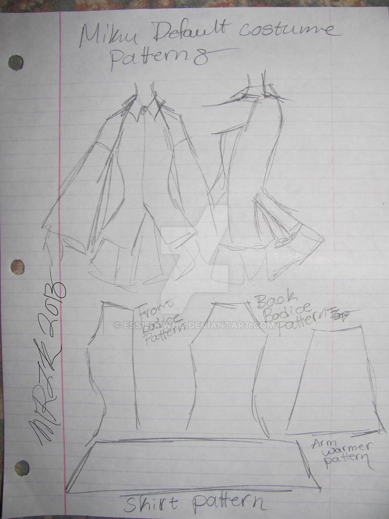 Miku Default Costume Brainstorm
