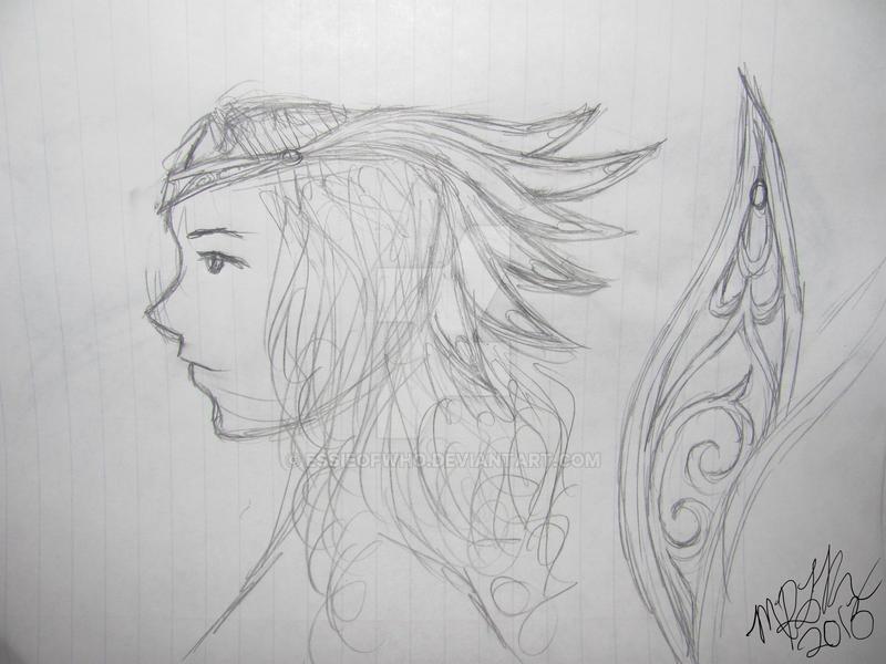 Thor Inspired Valkyrie Headdress Concept