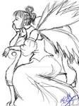 Fairy Chair Lineart