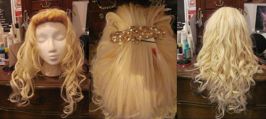 Rose Tyler Wig Fully Curled by EssieofWho