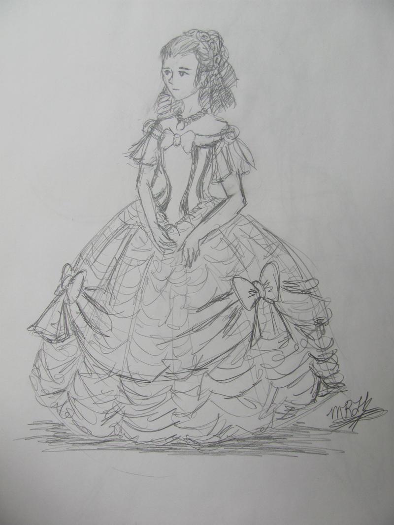 Belle's Broadway Dress