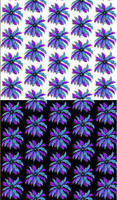 Feather Medallion Spoonflower Fabric Design
