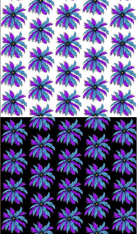 Feather Medallion Spoonflower Fabric Design