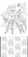Flower Coloring Design