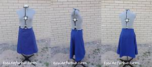 1940's Blue Skirt