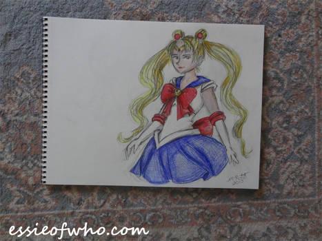 Sailor Moon Badge Entry