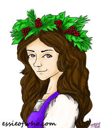 Christmas Holly by EssieofWho
