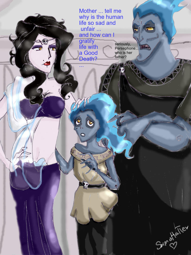 Аид и его дети фото