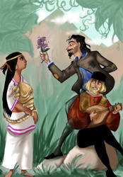 Almost Accurate: Road to El Dorado by ToscaSam
