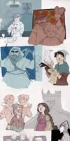 Medieval Harry Potter